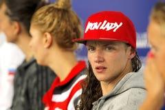 Hungarian swimmer Katinka Hosszu Stock Images