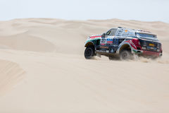 Hungarian team in Dakar 2013 Stock Photo