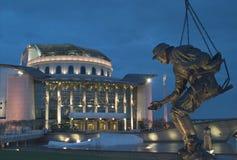 hungarian teatru narodowego budapesztu Obrazy Stock