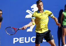 Hungarian tennis player Marton Fucsovics Stock Image