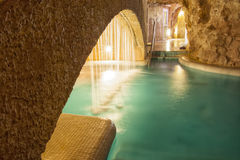 Hungarian Thermal Spa Stock Photography