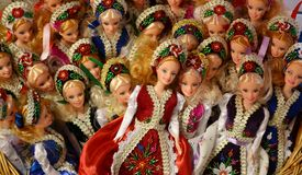 Hungarian traditional dolls Royalty Free Stock Photos