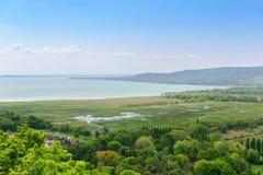 Hungarian valley and lake Balaton. Hungary Royalty Free Stock Photo