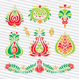 Hungarian Vector ornament stock illustration