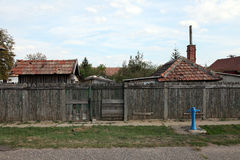Hungarian village Royalty Free Stock Images