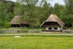 Hungarian village Stock Image