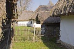 Hungarian village Royalty Free Stock Photos