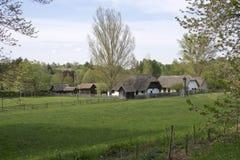 Hungarian village Royalty Free Stock Image