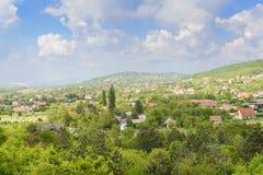 Hungarian village. Zala county. Hungary Royalty Free Stock Images