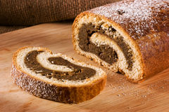 Hungarian walnut rolls royalty free stock image