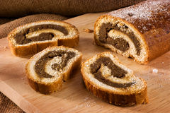 Hungarian walnut rolls Royalty Free Stock Photography