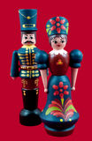 Hungarian Wooden Dolls Stock Photo