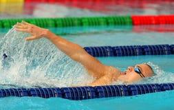 Hungarian World champion Laszlo Cseh Royalty Free Stock Photography