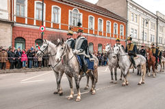 Hungarians day Stock Photography