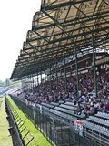 Hungaroring grandstand. In the home stretch Royalty Free Stock Photo