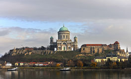 Hungary Assumption Cathedral. Eastphoto, tukuchina, Hungary Assumption Cathedral Stock Photos