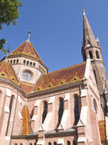 Hungary, Budapest, Calvanist Church. Hungary, Budapest, Calvinist Church, low angle view Royalty Free Stock Photography