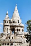 Hungary, budapest, fisherman's bastion. Royalty Free Stock Photos