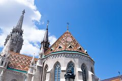 Hungary, budapest, matthias church. Stock Photography