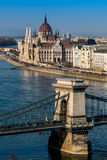 Hungary, budapest, parliament Royalty Free Stock Photography