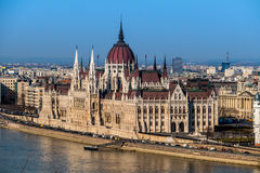 Hungary, budapest, parliament Stock Photography