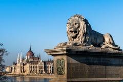 Hungary, budapest, parliament Royalty Free Stock Image