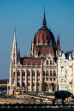 Hungary, budapest, parliament Royalty Free Stock Photo