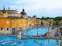 Hungary, Budapest, Szechenyi Royalty Free Stock Images