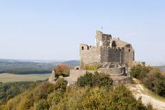 hungary Château médiéval du 13ème siècle Images stock