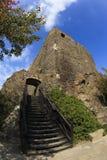 hungary Château médiéval du 13ème siècle Photos stock