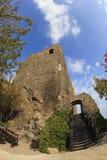 hungary Château médiéval du 13ème siècle Image libre de droits