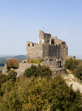 hungary Château médiéval du 13ème siècle Photo libre de droits