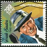 HUNGARY - 2015: shows Francis Albert Frank Sinatra 1915-1998, American singer, actor, and producer Royalty Free Stock Image