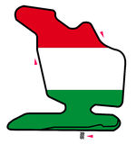 Hungary circuit: Formula 1 Stock Image