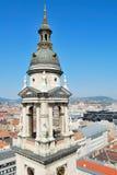 hungary Dessus-vue de Budapest Images libres de droits
