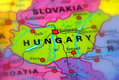 Hungary - Europe. Hungary, with Budapest as capitol - East Europe stock photo