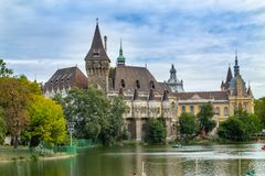 The ancient castle in the center of Budapest Hungary monuments of architecture. Hungary monuments of architecture The ancient castle in the center of Budapest stock photos