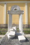 hungary pannonhalmasynagoga Royaltyfri Fotografi