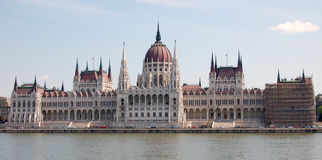 Hungary parliament. In Budapest Royalty Free Stock Photos