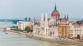 Hungary Parliament, Budapest. Stock Photography
