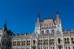 Hungary Parliament in Budapest. Royalty Free Stock Photography