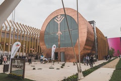 Hungary pavilion at Expo 2015 in Milan, Italy Royalty Free Stock Photography