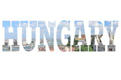 Hungary postcard Royalty Free Stock Photography