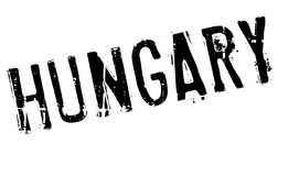 Hungary stamp rubber grunge Royalty Free Stock Photos