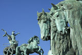 Hungary statue Royalty Free Stock Photography