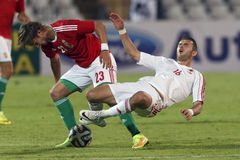 Hungary vs. Albania friendly football match Stock Photography