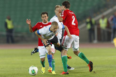 Hungary vs. Estonia World Cup qualifier match Royalty Free Stock Photo