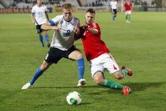 Hungary vs. Estonia World Cup qualifier match Stock Photos