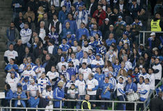 Hungary vs. Greece UEFA Euro 2016 qualifier football match Stock Photo