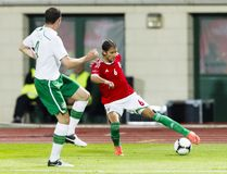 Hungary vs. Ireland friendly football game Stock Photography